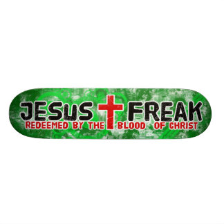 Jesus Freak Green 20.6 Cm Skateboard Deck