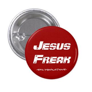Jesus Freak, -SFG Productions- 3 Cm Round Badge