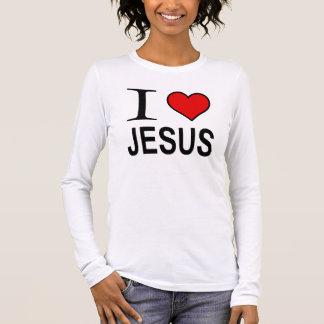 Jesus gifts I love Jesus logo Jesus t-Shirt