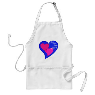 Jesus Gives Peace Love & Power - Standard Apron