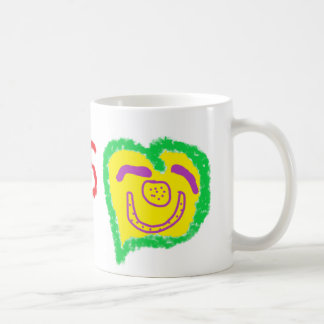 'Jesus' Happy Heart Face' Mug