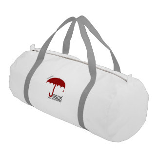 Jesus Has Me Covered Duffle Bag Gym Duffel Bag