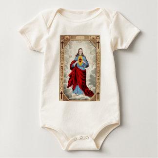 Jesus heart infant onsie creeper