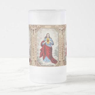 Jesus heart mug