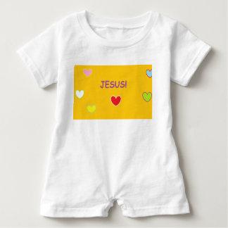 Jesus Hearts Baby Romper Baby Bodysuit