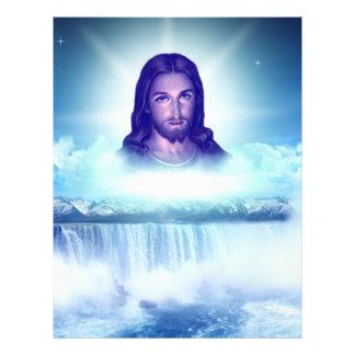 Jesus image personalized flyer