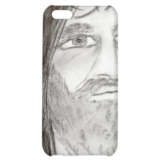Jesus in Charcoal iPhone 5C Cases