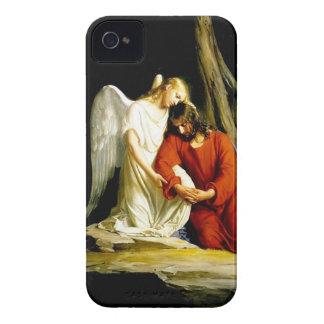 Jesus in the garden of Gethsemane iPhone 4 Case-Mate Case