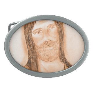 Jesus In The Light Belt Buckles