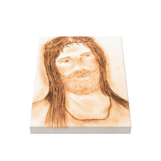 Jesus in the Light Canvas Print