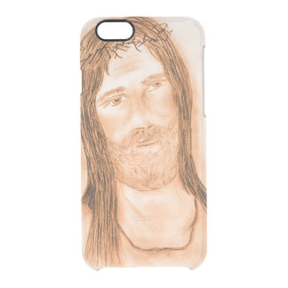 Jesus in the Light Clear iPhone 6/6S Case