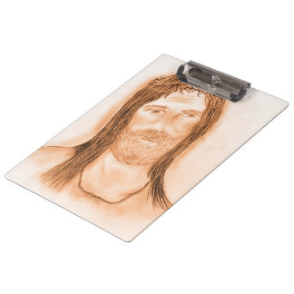 Jesus in the Light Clipboard