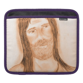 Jesus in the Light iPad Sleeve