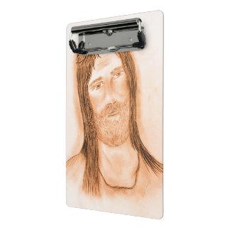 Jesus in the Light Mini Clipboard