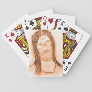 Jesus in the Light Playing Cards
