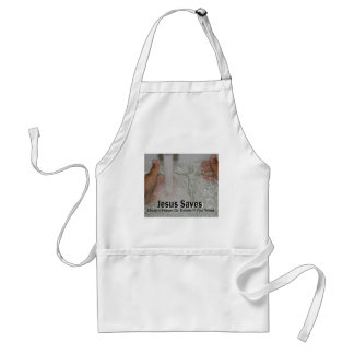 Jesus In Water With Two Thumbs Up Church Promotion Standard Apron