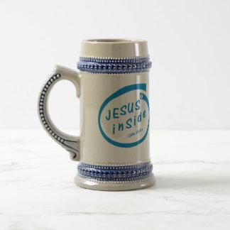 Jesus inside mugs