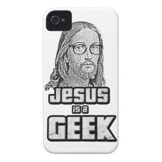 Jesus is a geek iPhone 4 cases
