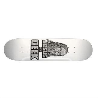 Jesus is a geek skateboards