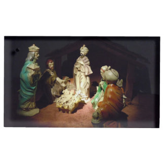 Jesus is Born Table Card Holder