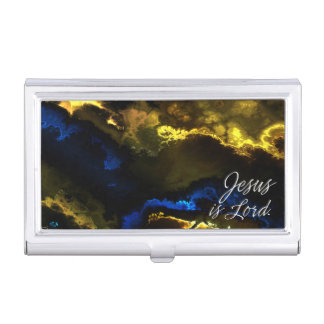 Jesus is Lord 1 Business Card Holder