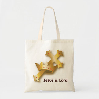 Jesus is Lord Budget Tote Bag