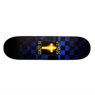 Jesus is Lord Cross skateboard