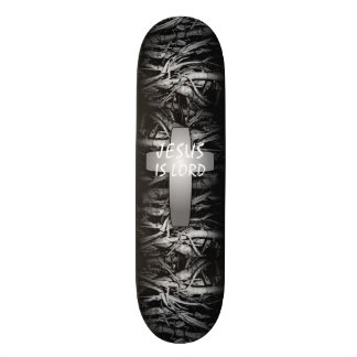 Jesus is Lord Cross skateboard