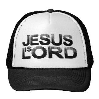 Jesus is Lord Mesh Hat