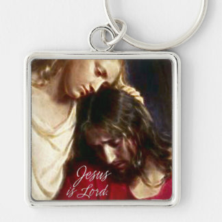 Jesus is Lord Keychains
