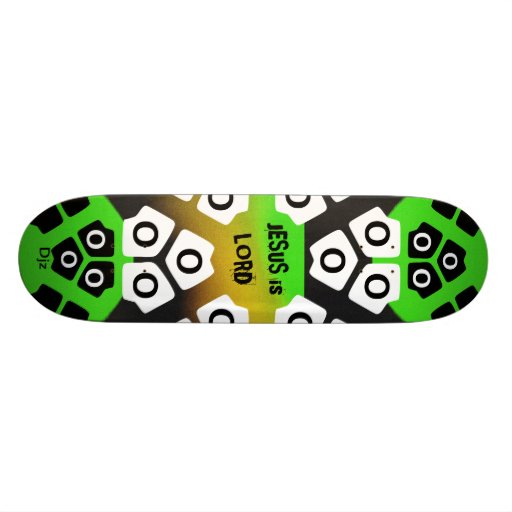 Jesus is Lord Skate Board Decks