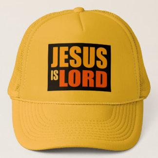 Jesus is Lord YO Trucker Hat