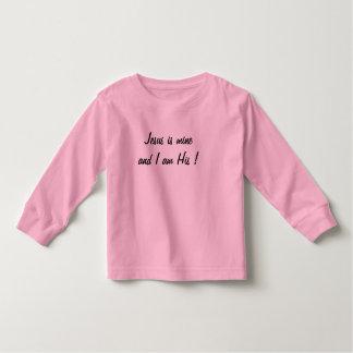 Jesus is Mine toddler t-shirt