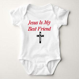 Jesus is my best friend baby suit baby bodysuit