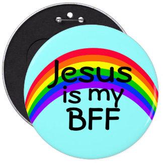 Jesus is my Best Friend Forever 6 Cm Round Badge