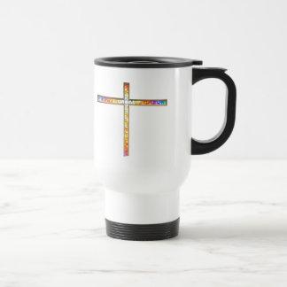 Jesus is my co-pilot! - travel mug