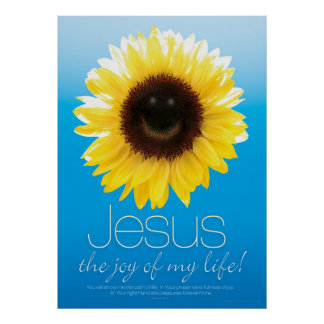 JESUS IS MY JOY - Christian Religious Posters