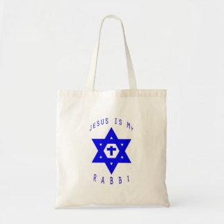 Jesus is my Rabbi Tote Bag