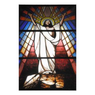 Jesus is Our Savior Photographic Print