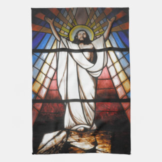 Jesus is Our Savior Tea Towel