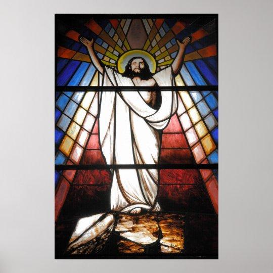 Jesus is Our Saviour Poster