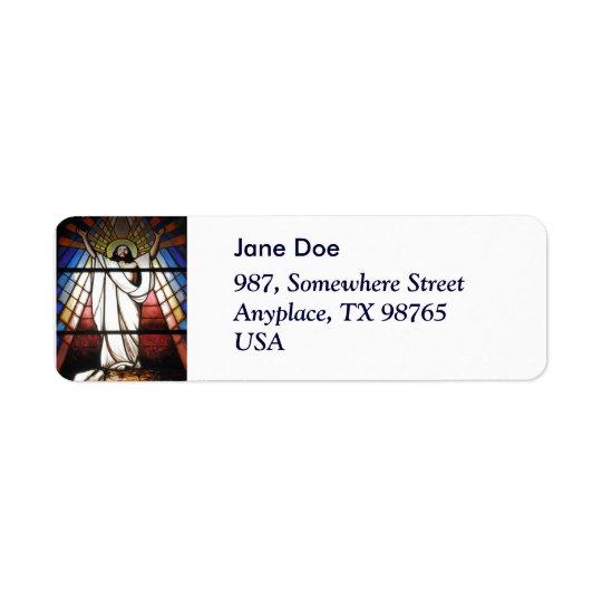 Jesus is Our Saviour Return Address Label