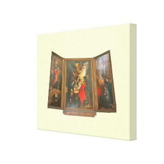 Jesus is taken down from the Cross Canvas Prints
