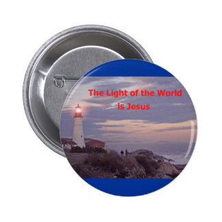Jesus is the Light of the World Pin