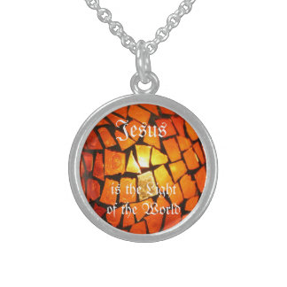 """Jesus is the Light of the World"" Necklace"