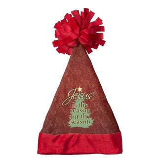 Jesus is the Reason Christian Christmas Santa Hat