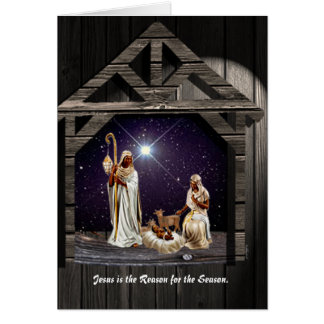 Jesus is the Reason for the Season. Card
