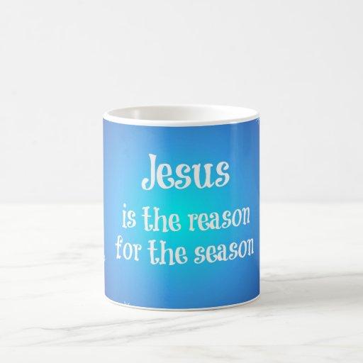 Jesus is the reason for the Season Christmas Mugs