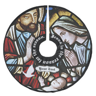 Jesus is the Reason for the Season Tree Skirt