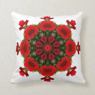JESUS IS THE REASON FOR THE SEASON WITH ROSES CUSHION